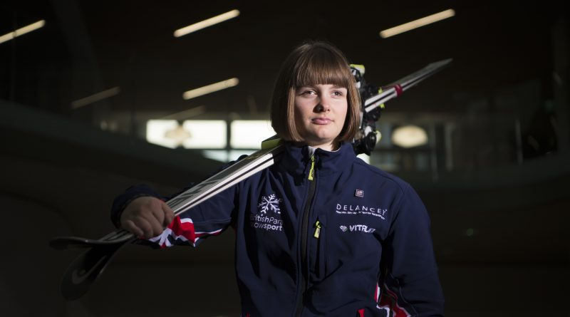 Millie Knight is a Paralympic skier from Canterbury