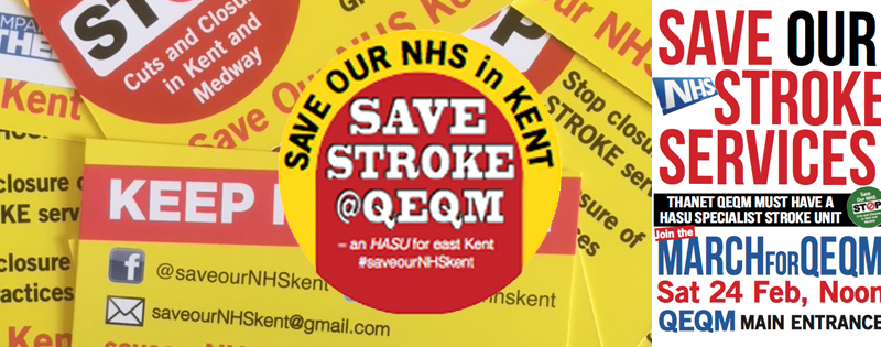SONiK on fire with the NHS against its plan to open three new hyper acute stroke units in Kent